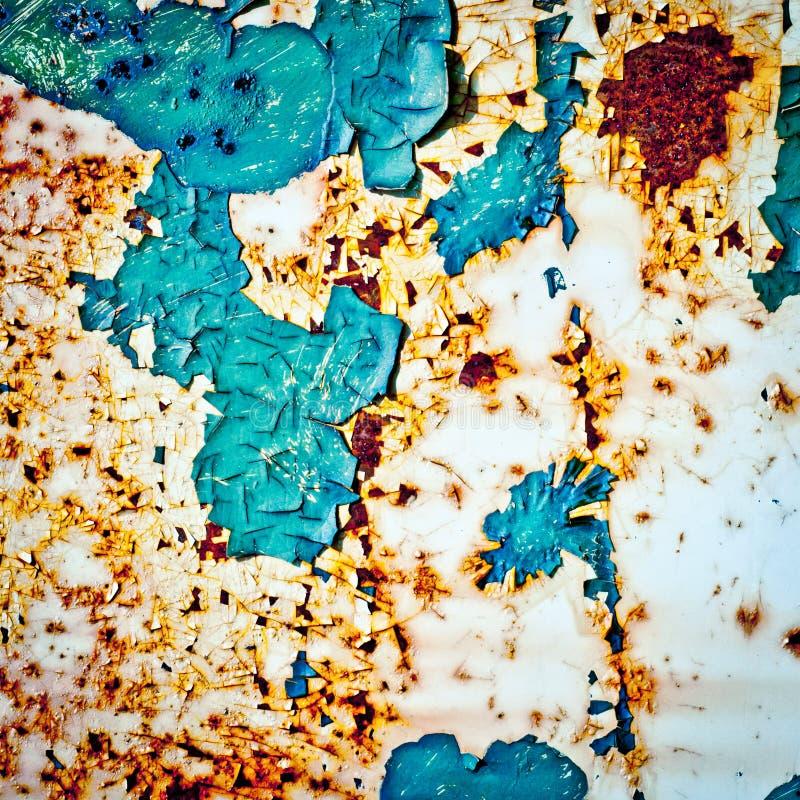 Fundo do Grunge Textura oxidada do metal imagem de stock
