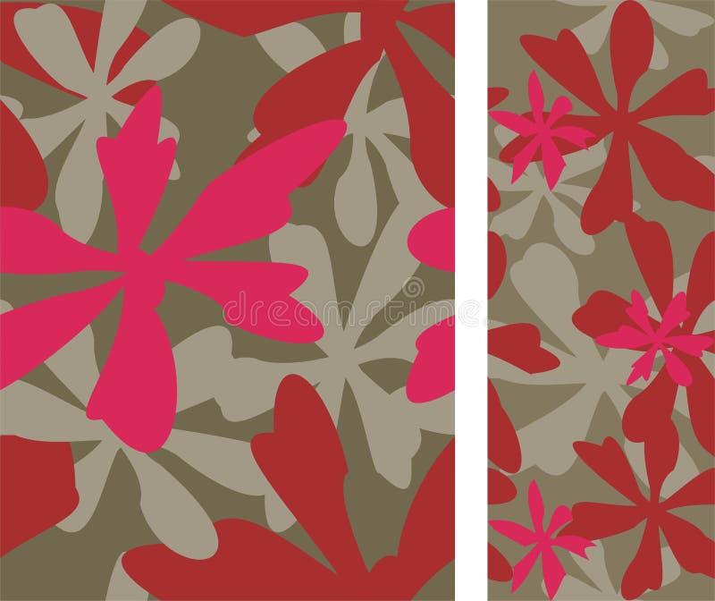 Fundo do hibiscus ilustração do vetor