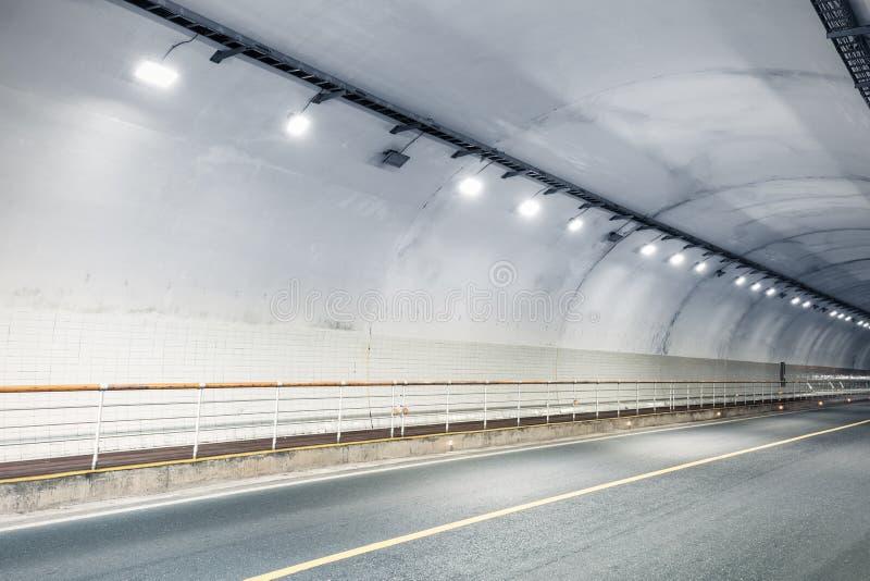 Fundo do interior do túnel imagens de stock
