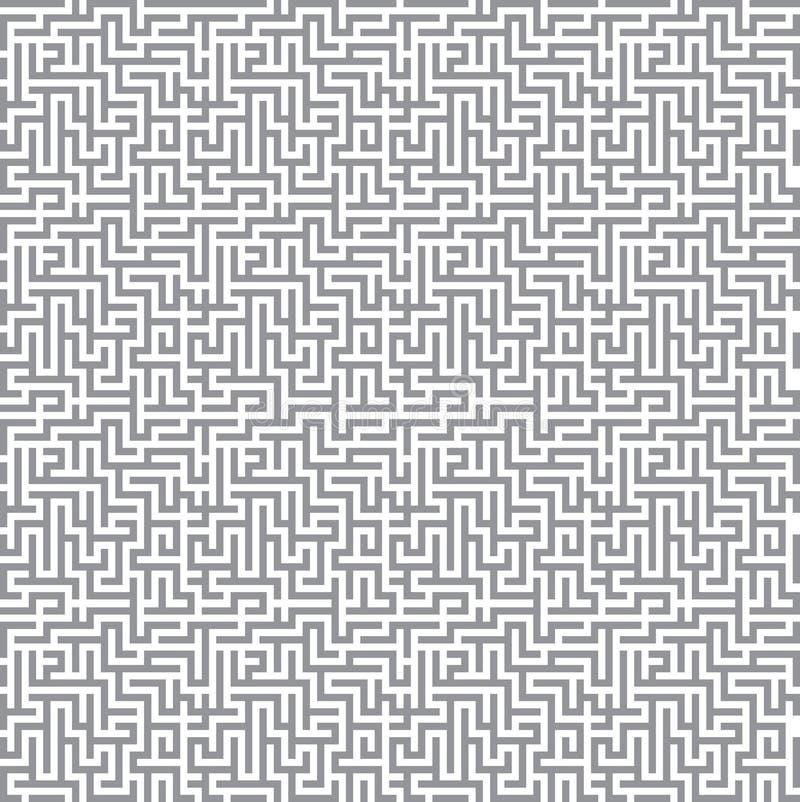 Fundo do labirinto ilustração stock