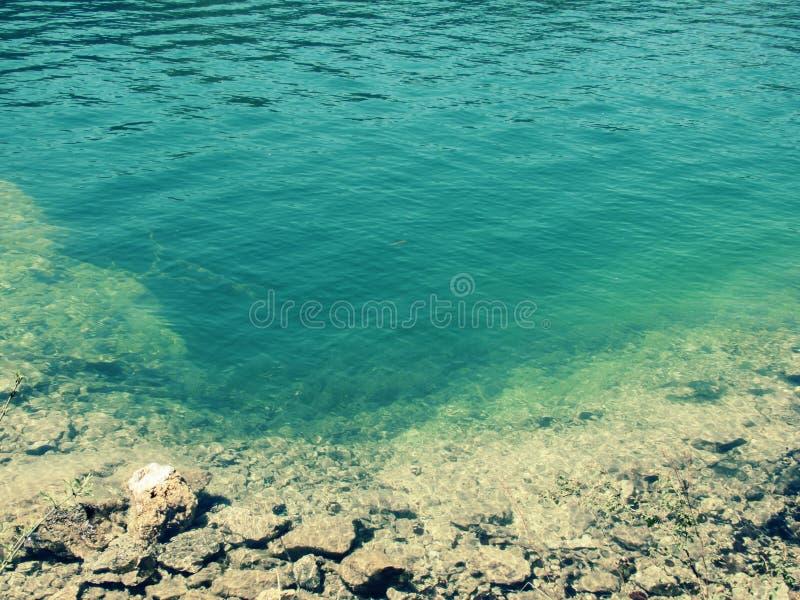 Fundo do lago claro imagens de stock royalty free