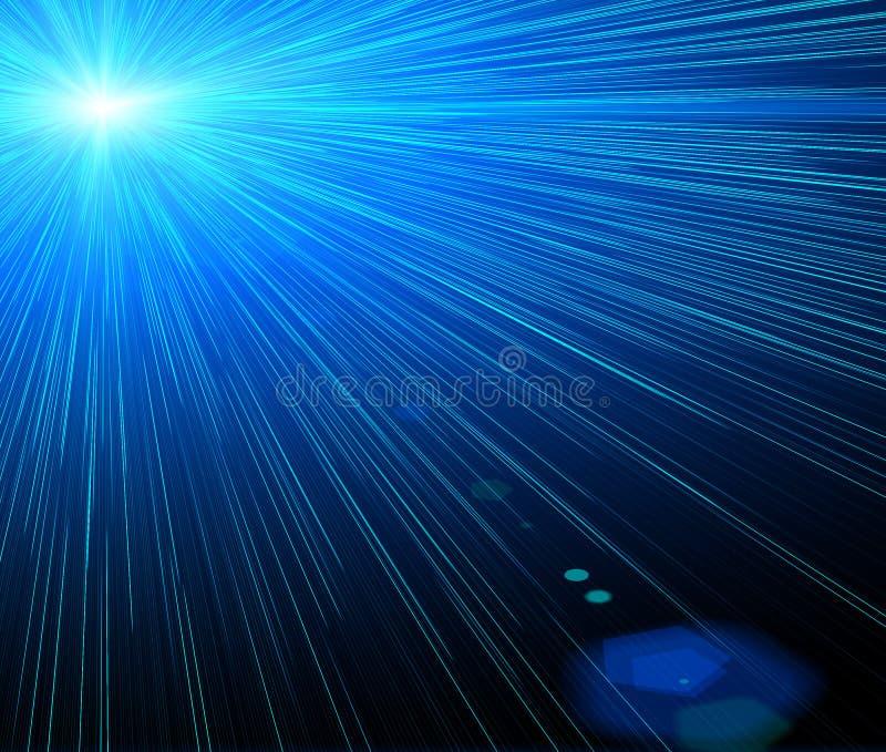 Fundo do laser ilustração royalty free