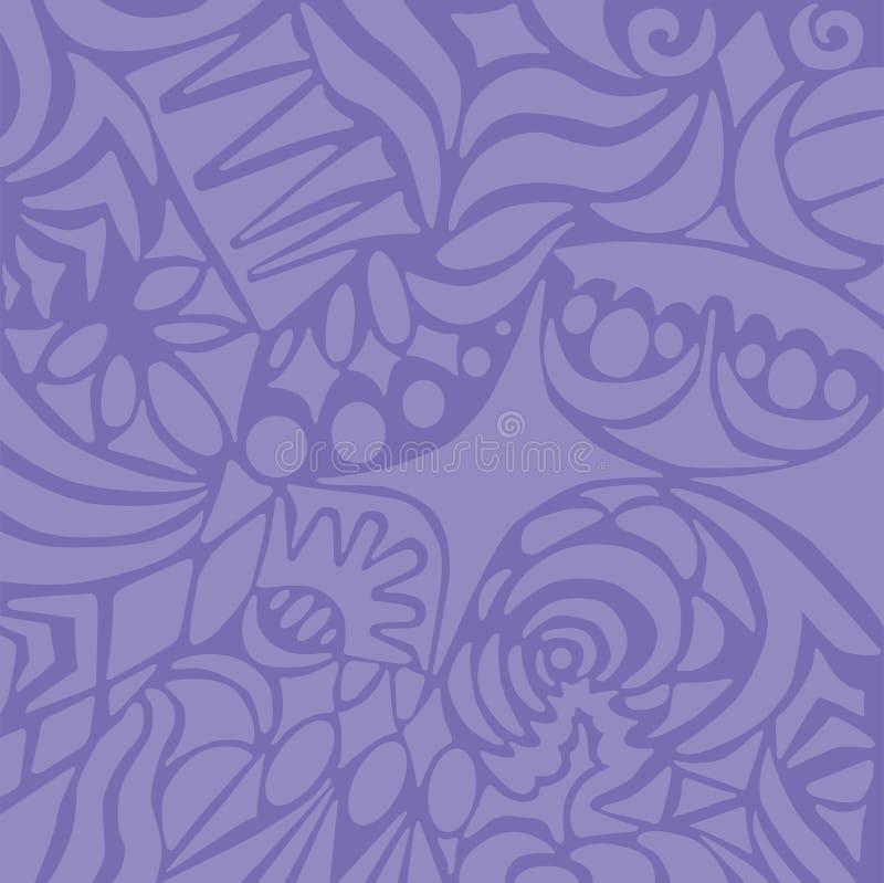Fundo do Lilac ilustração stock