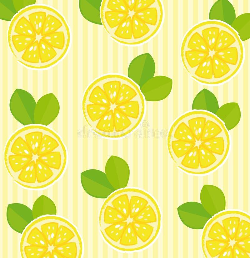 Fundo do limão ilustração stock