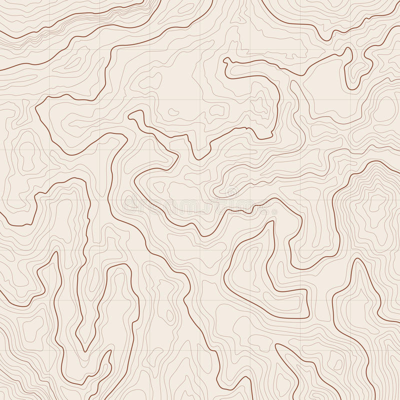 Fundo do mapa topográfico ilustração stock