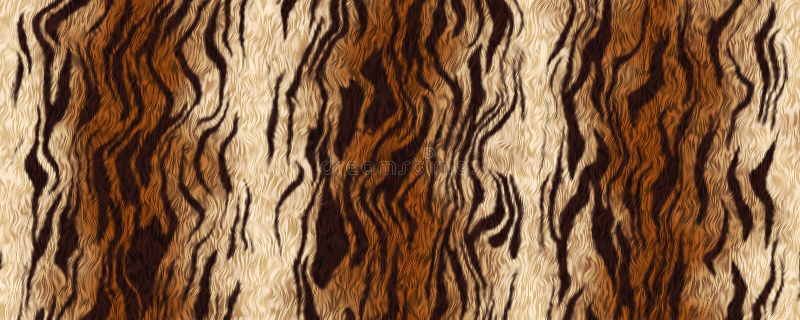 Fundo do material da pele do tigre da ilustração de Digitas ilustração stock
