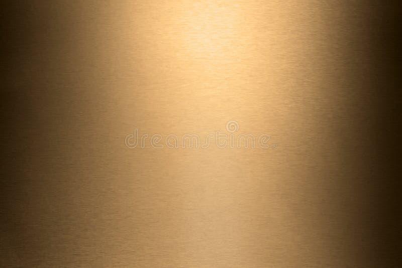 Fundo do metal de Brown fotografia de stock