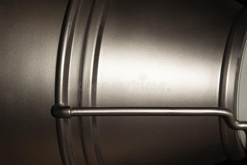 Fundo do metal detalhe de alumínio Contexto industrial foto de stock royalty free