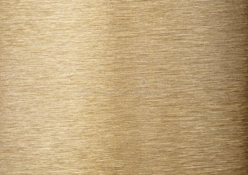 Fundo do metal do ouro foto de stock