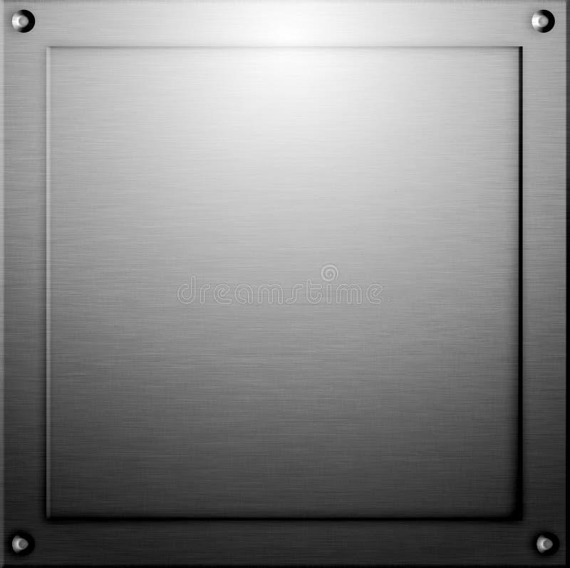 Fundo do metal ou textura do aço fotografia de stock royalty free