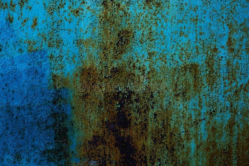 Fundo do metal oxidado textura textured, velhos da oxidação do ferro do metal e imagens de stock royalty free