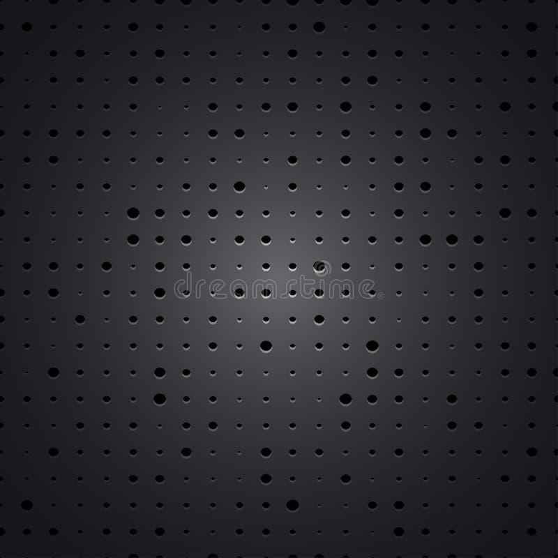 Download Fundo da grade do metal ilustração do vetor. Ilustração de pattern - 29827213