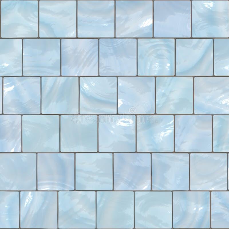 Fundo do mosaico da telha ilustração stock