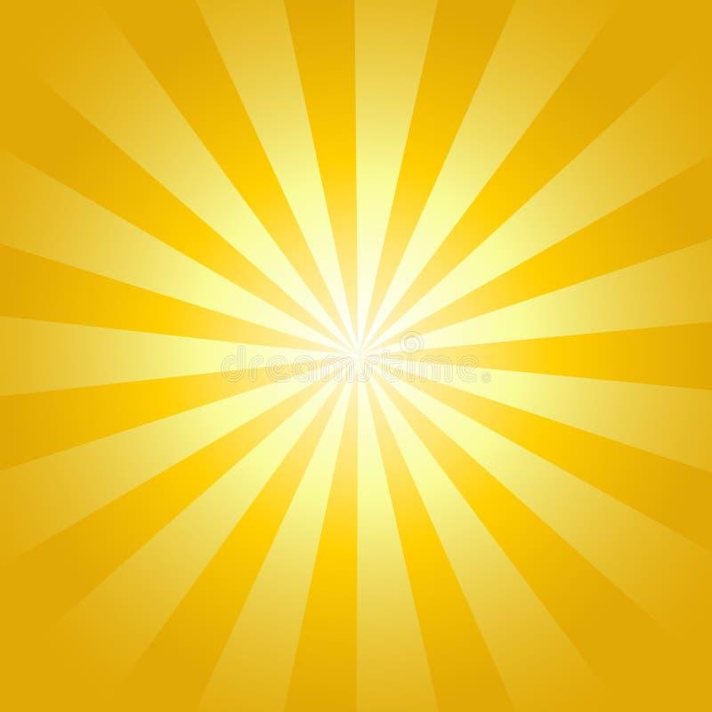 Fundo do nascer do sol ilustração do vetor
