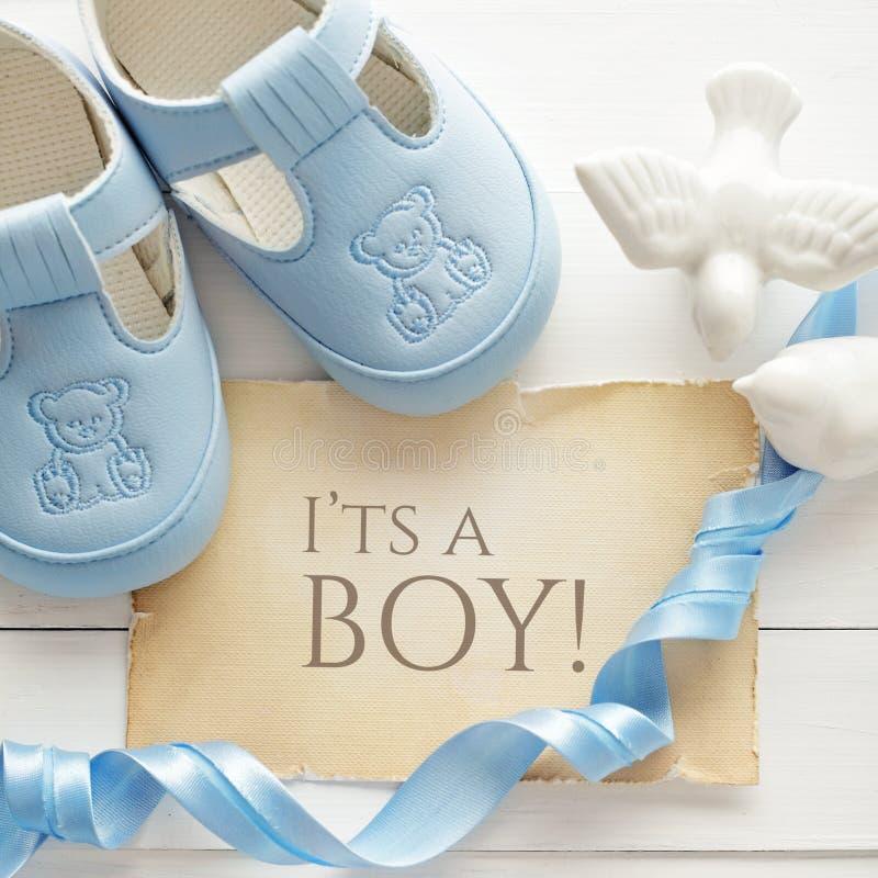 Fundo do nascimento do bebê fotografia de stock royalty free
