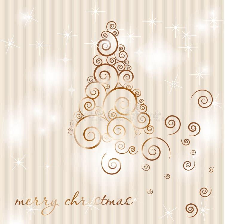 Download Fundo do Natal ilustração do vetor. Ilustração de ornate - 16860494