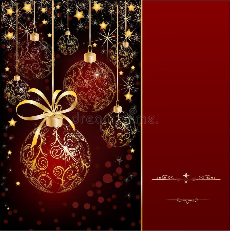 Download Fundo do Natal ilustração do vetor. Ilustração de celebration - 16869677