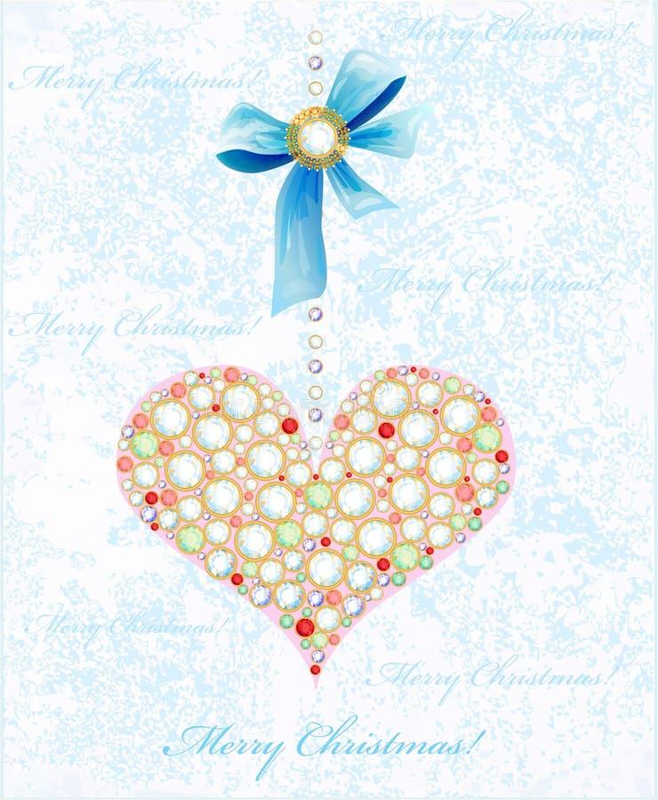 Download Fundo do Natal ilustração do vetor. Ilustração de jóia - 16872218