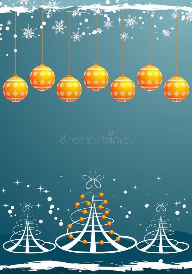Fundo do Natal ilustração royalty free