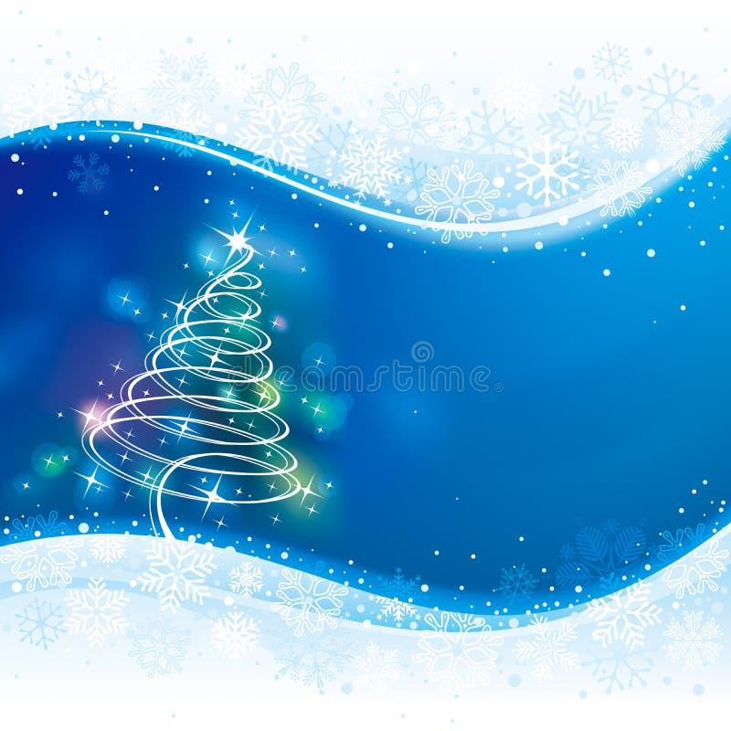 Fundo do Natal ilustração stock