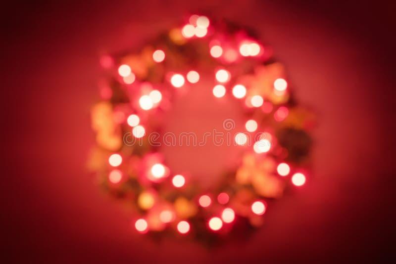 Fundo do Natal abstrato borrado e do ano novo fotografia de stock royalty free