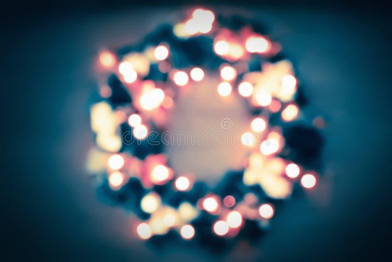 Fundo do Natal abstrato borrado e do ano novo imagem de stock