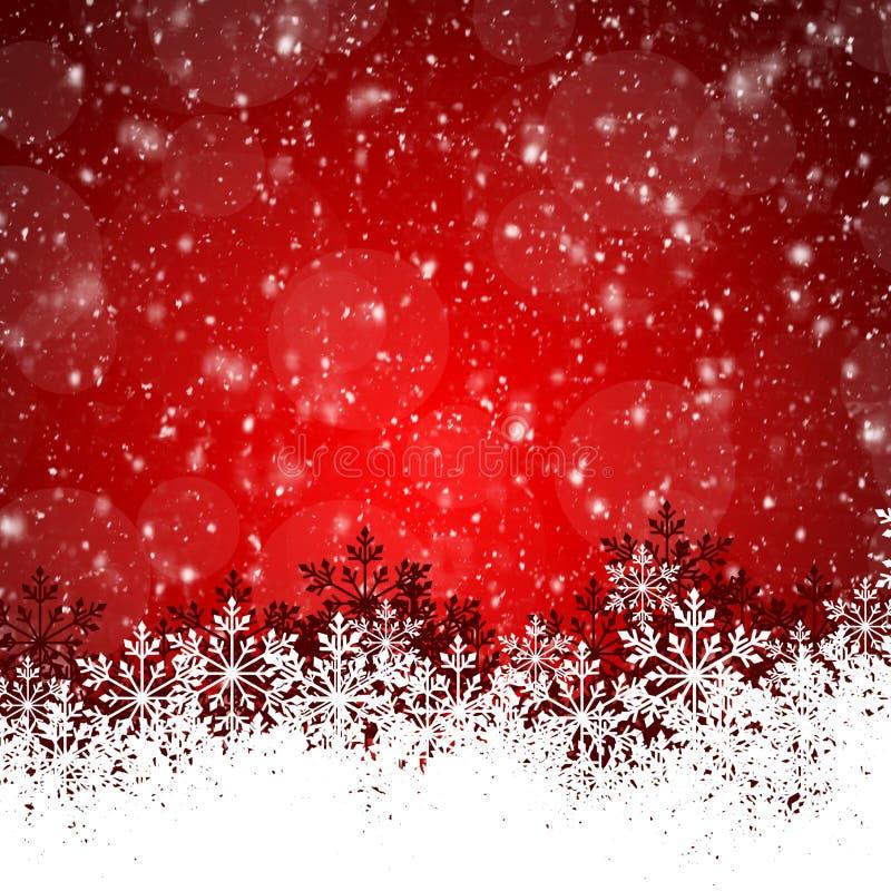 Fundo do Natal abstrato da beleza e do ano novo ilustração do vetor