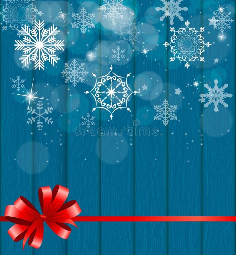 Fundo do Natal abstrato da beleza e do ano novo ilustração royalty free