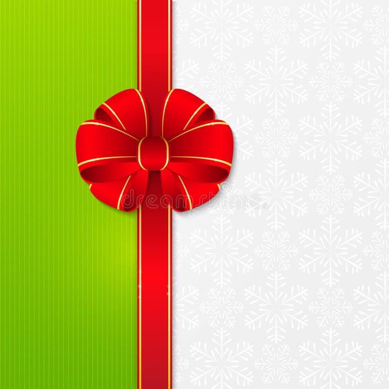 Fundo do Natal com fita ilustração royalty free