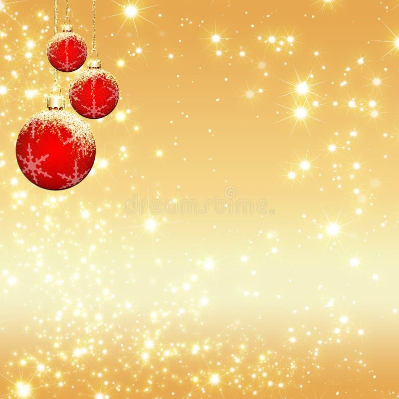 Fundo do Natal da faísca ilustração stock