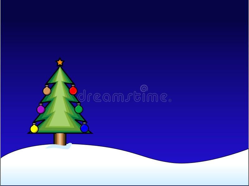 Fundo do Natal do vetor ilustração do vetor