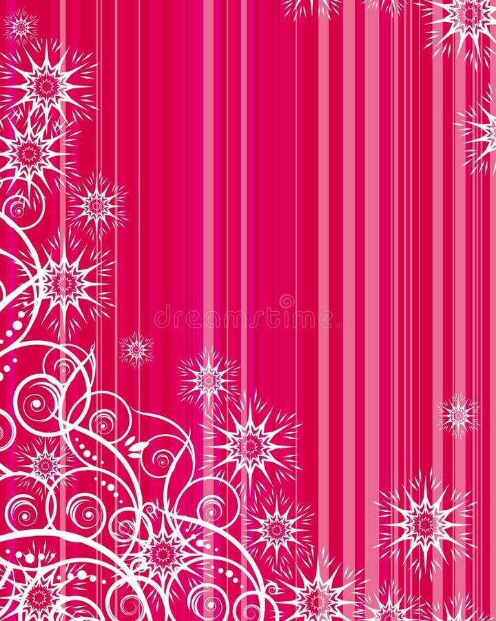 Fundo do Natal e de ano novo ilustração do vetor