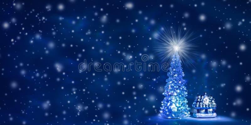 Fundo do Natal e de ano novo com espaço livre para o texto ilustração stock