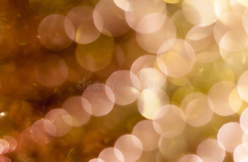 Fundo do Natal Fundo abstrato festivo com luzes e as estrelas defocused do bokeh fotos de stock royalty free