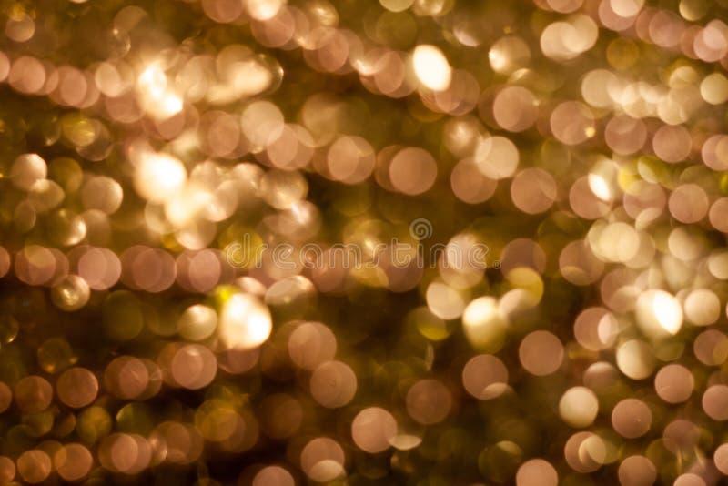 Fundo do Natal Fundo abstrato festivo com luzes e as estrelas defocused do bokeh imagens de stock royalty free