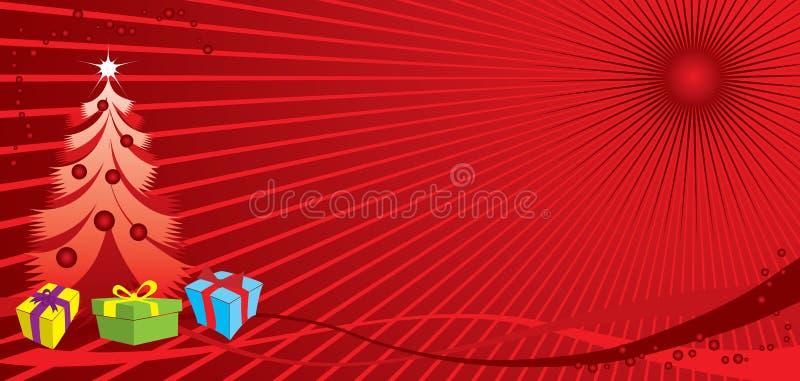 Fundo do Natal, vetor ilustração royalty free