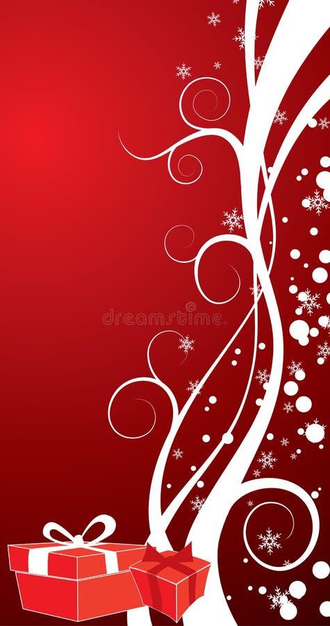Fundo do Natal, vetor