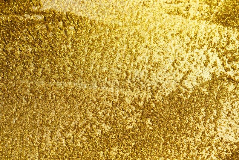 Fundo do ouro ou sombra da textura e dos inclinações imagens de stock