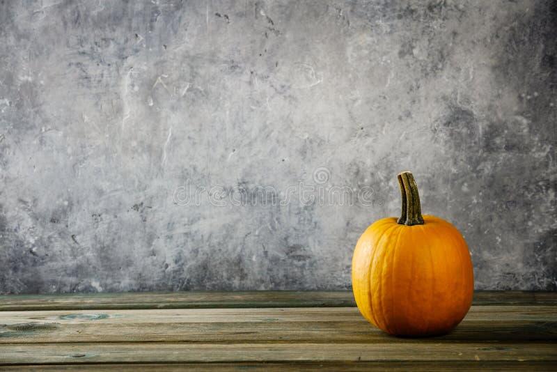Fundo do outono com ab?bora fotos de stock