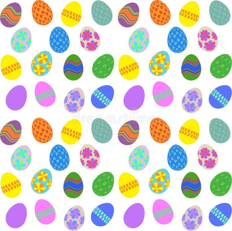 Fundo do ovo de Easter ilustração stock