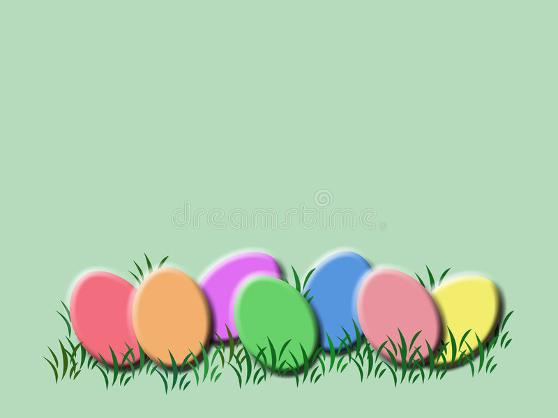 Fundo do ovo de Easter ilustração royalty free