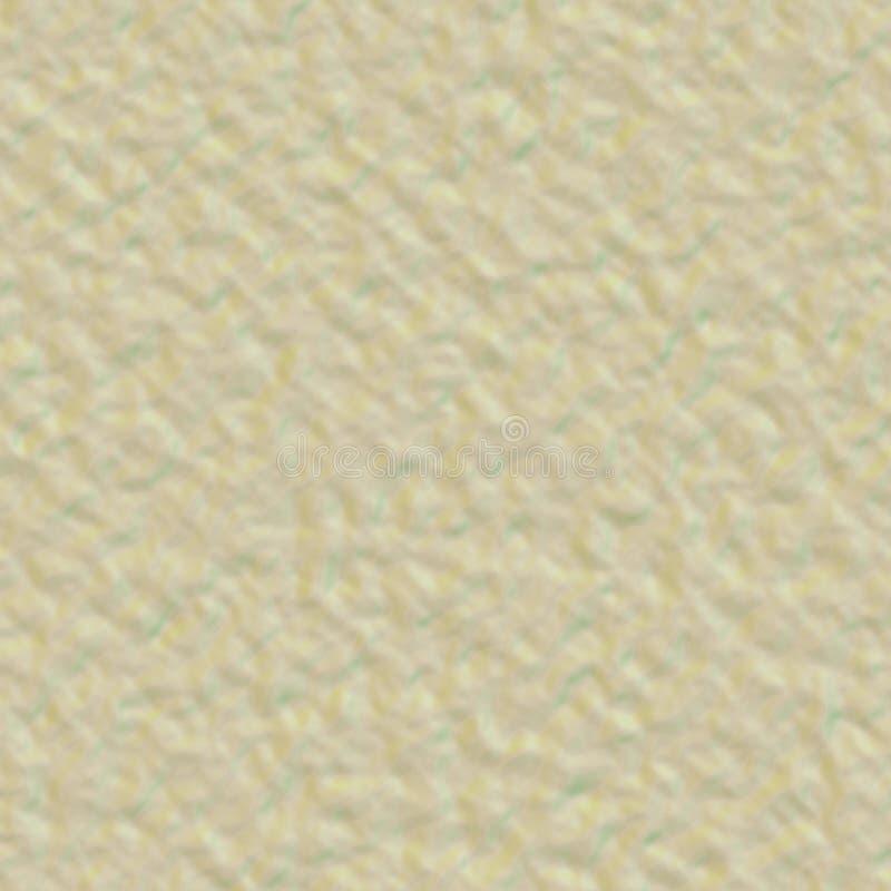 Fundo do papel da aquarela com as ondas no estilo do grunge Fundo da cor da areia para anunciar ilustração do vetor
