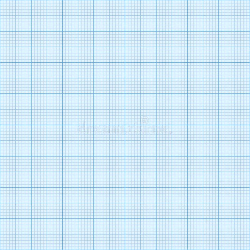 Fundo do papel de gráfico para desenhos ilustração do vetor