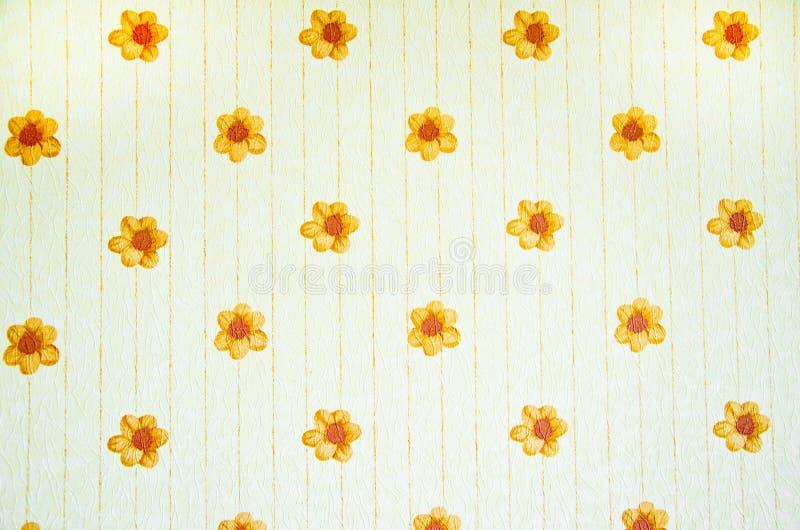 Fundo do papel de parede do vintage imagem de stock