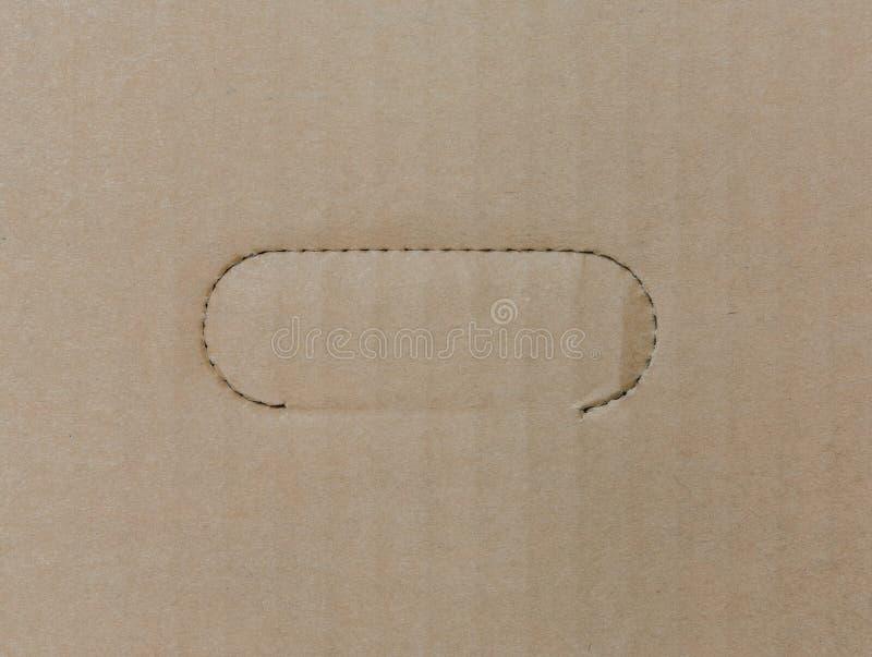Fundo do papel do cartão ondulado imagem de stock