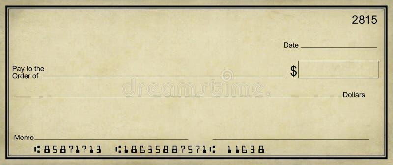 Fundo do pergaminho da verificação em branco