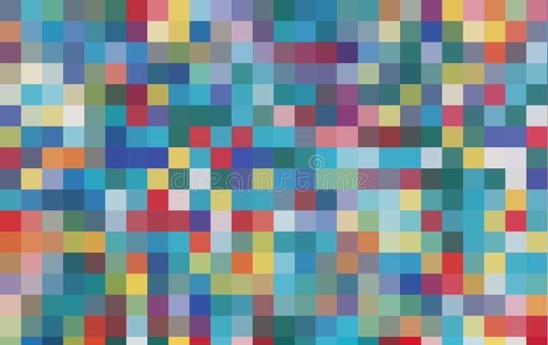 Fundo do pixel do jogo de vídeo imagens de stock