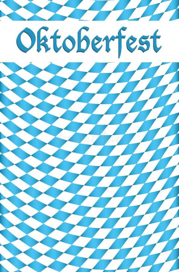 Fundo do projeto da celebração de Oktoberfest ilustração do vetor