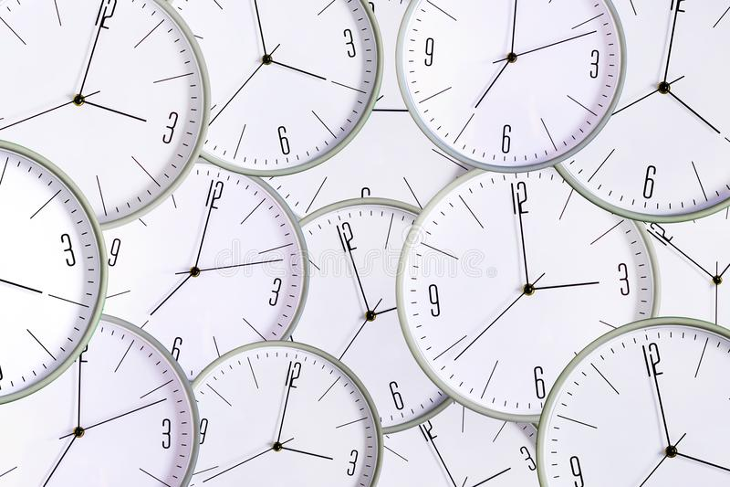 Fundo do pulso de disparo Falta do conceito de tempo exatidão lateness ilustração stock