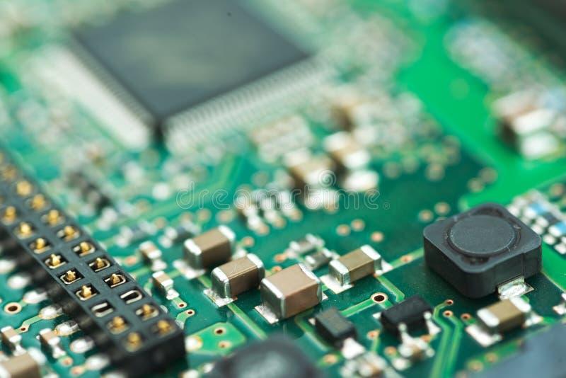 Fundo do PWB do controlador de HDD imagens de stock